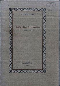 Taccuini di Lavoro (1944-19455)