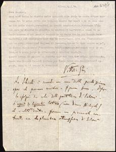 Lettere manoscritte indirizzate a Giacomo Puccini