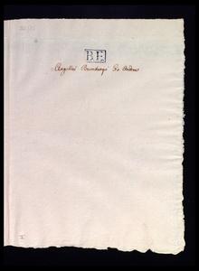 Modena, Biblioteca Estense universitaria, Archivio Muratori, 52.10