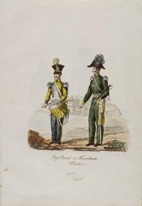 Capitano e tamburo volontari