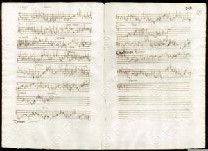 Sanctus sanctus sanctus (Missa Rex seculorum)