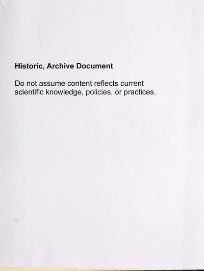 Impacts of backcountry recreation : site management and rehabilitation : an annotated bibliography /