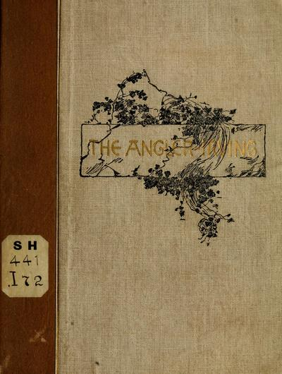 The angler. By Washington Irving. With etched illustrations by Louis K. Harlow.