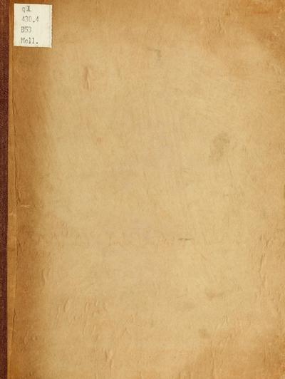 Bidrag til en monographi af Marseniaderne en familie af de gastræopode mollusker : en critisk, zootomisk, zoologisk undersögelse / af Rudolph Bergh.