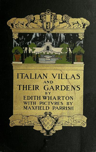 Italian villas and their gardens /