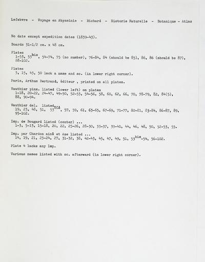 Image from object titled Tentamen florae Abyssinicae :seu, Enumeratio plantarum hucusque in plerisque Abyssiniae provinciis detectarum et praecipue a beatis doctoribus Richard Quartin Dillon et Antonio Petit (annis 1838-1843) lectarum /auctore Achille Richard.; Tent. Fl. Abyss.