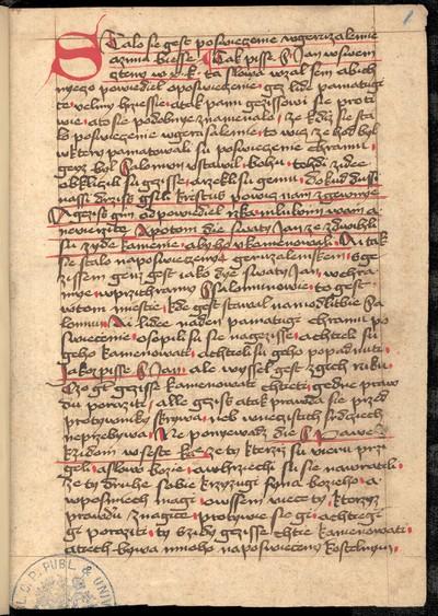 Jan Hus: Kázání na den posvícení