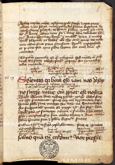 Lectionarium bipartitum, pars hiemalis
