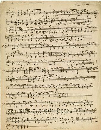 [Sei variazioni]. Op. 118