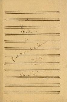 3 Duetti per Mandolino e la Chitarra composti da Enrico Rung