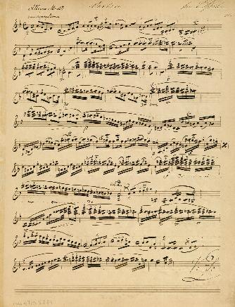 [Streichquartett d-moll, opus 11 arr. für Violine und Gitarre von A. Diabelli]