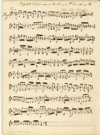 3 petits Duos concertantes par F. Carulli op. 34