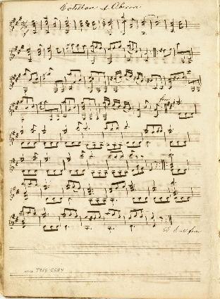 Cotillon af Oberon; Duetti per 2 Chitarre