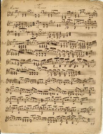 [6 grandi variazioni. Opus 112]; Kompositioner for en og to guitarer