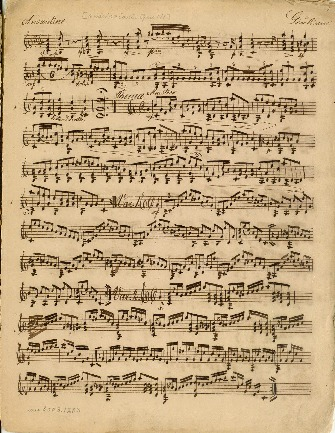 [6 variazioni. Opus 118]; Kompositioner for en og to guitarer