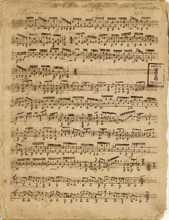 Af Le Nouveau Papillon par Carcassi. [Op. 5]: (No. 11, No. 15); Kompositioner for en og to guitarer
