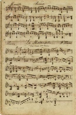 La ¤Melancolie; Kompositioner for en og to guitarer