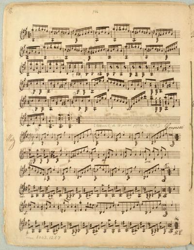 [Recueil de 10 petites pièces. Op. 11. No. 7]: Walz; Kompositioner for en og to guitarer