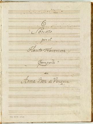 6 Sonate per il Flauto Traversiere [C,F,B,D,g,G]
