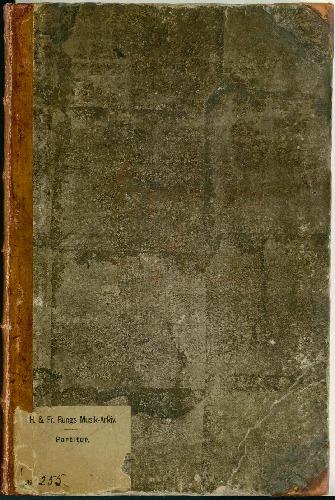 [Sørgekantate] Da den Høysalige Konge, Frederik den Femte, Konge til Danmark og Norge, skulde føres til sit Hvilested, blev følgende Sørge-Sange i Christiansborgs Slots-Kirke den 18de Martius 1766, opført. Musiken er af...