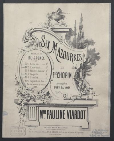 Six Mazourkes de. F. Chopin