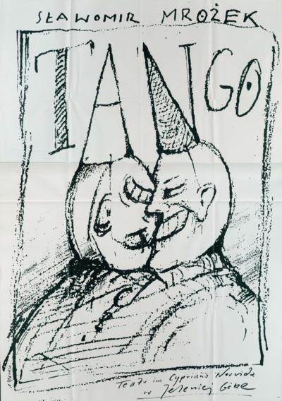 Tango - plakat [Dokument życia społecznego]