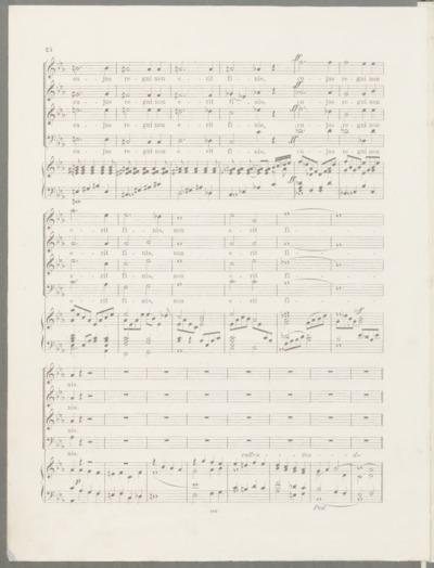 Msza łacińska : na cztery głosy z towarzyszeniem organu