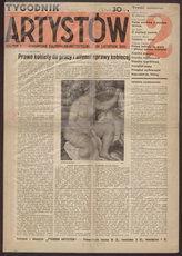 Tygodnik Artystów : czasopismo kulturalno-artystyczne. R. 1, 1934 nr 2 (24 XI)
