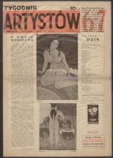 Tygodnik Artystów : czasopismo kulturalno-artystyczne. R. 1, 1934 nr 6/7 (22 XII)