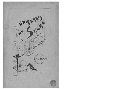 Un Terrós de sucre : comèdia en un acte original