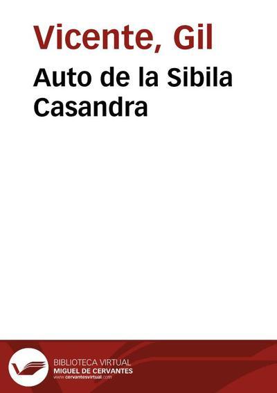 Auto de la Sibila Casandra (2003)