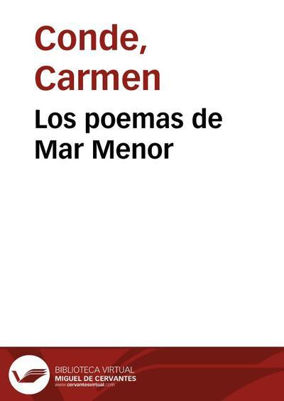 Los poemas de Mar Menor