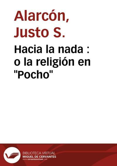 """Hacia la nada : o la religión en """"Pocho"""""""
