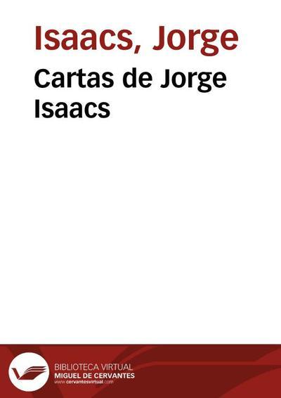 Cartas de Jorge Isaacs