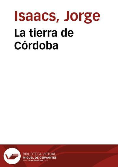 La tierra de Córdoba