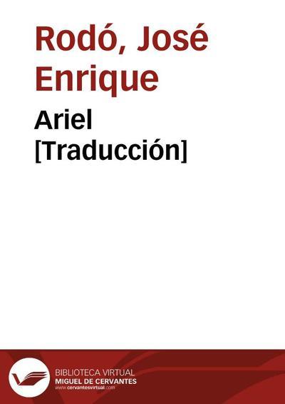 Ariel [Traducción]