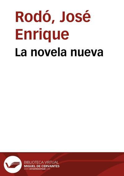 La novela nueva