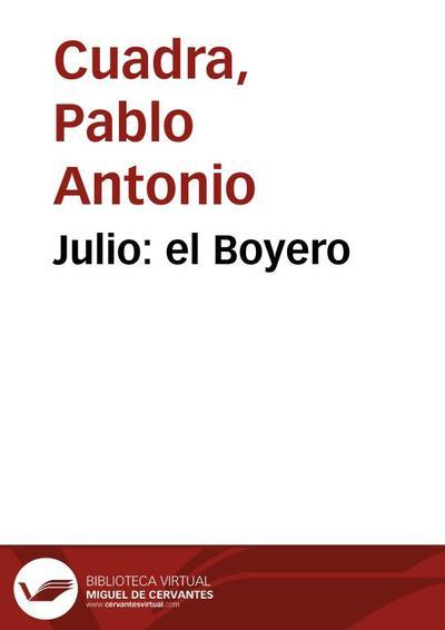 Julio: el Boyero
