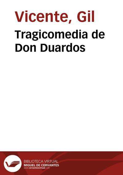 Tragicomedia de Don Duardos