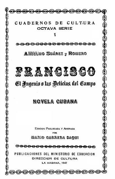 Francisco. El ingenio o las delicias del campo