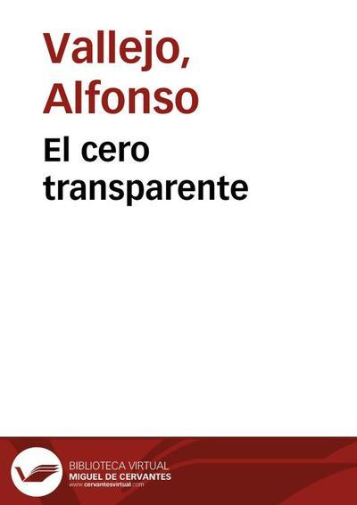 El cero transparente