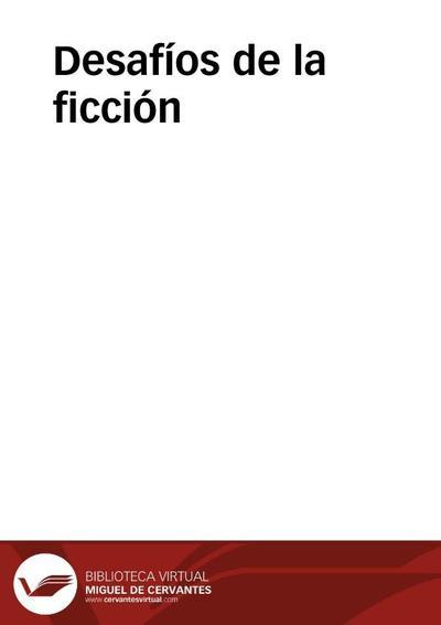 Desafíos de la ficción