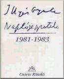 Naplójegyzetek, 1981-1983