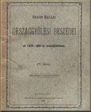Orbán Balázs országgyűlési beszédei az 1878-1881-ki országgyűlésen: 4. füzet