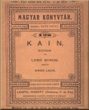 Kain; Miszterium; Magyar könyvtár; 128.