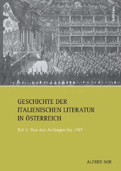 Image from object titled Geschichte der italienischen Literatur in Österreich