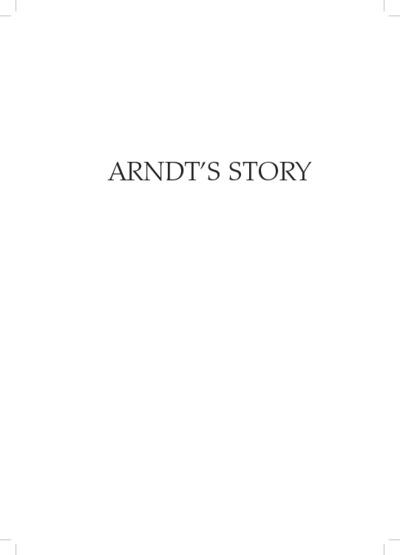 Ardnt's Story : The life of an Australian economist