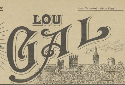 Lou Gal. - Annada 04, n°75 (1è d'agoust 1918)