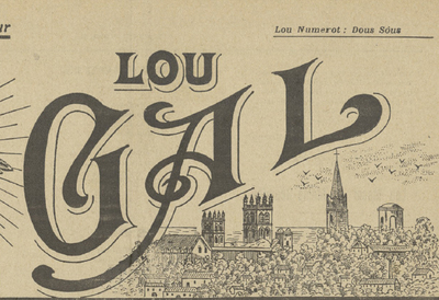 Lou Gal. - Annada 03, n°43 (1é d'abriéu 1917)