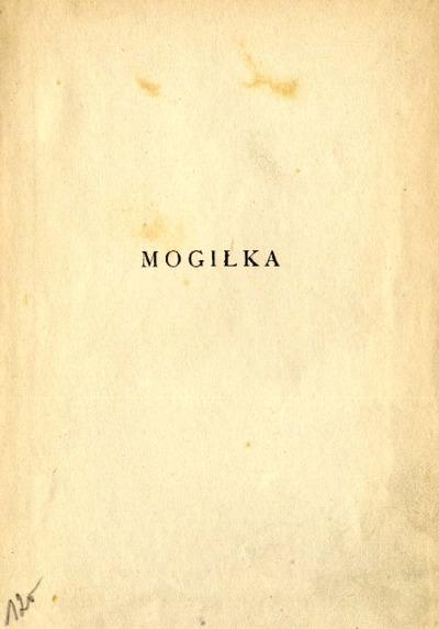 Mogiłka
